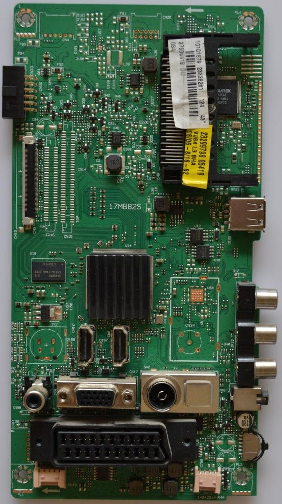 17MB82S/40INC/FINLUX MAIN BOARD ,17MB82S,for 40inc DISPLAY ,10101879,23328281,27606419,14042014R4A,