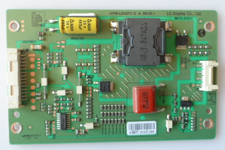 LD/KPW-LE42/PH/42PFH6309 LED DRIVER ,KPW-LE42FC-0 A REV0.1,6917L0151C, for ,PHILIPS 42PFH6309/88,