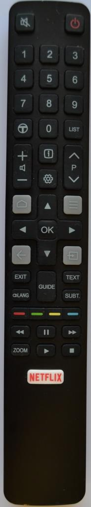 RC/TCL/43EP660 ORIGINAL REMOTE CONTROL for TCL 43EP660,06-IRPT45-ARC802NP,RC802NYUI4,
