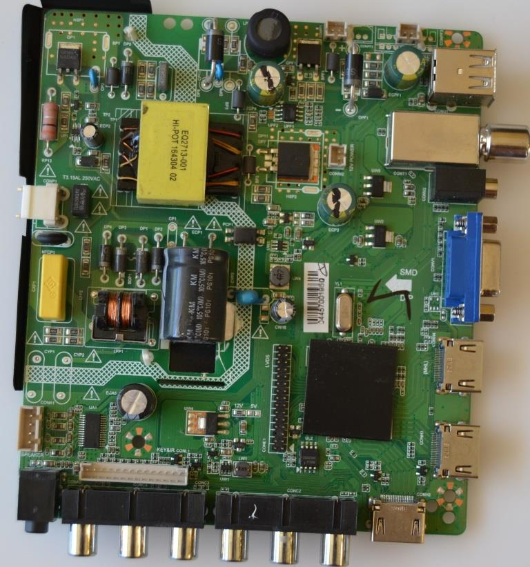 MB/LDD.M3463.A/ELITE MAIN BOARD,LDD.M3463.A, for ELITE CLED-32300HD,