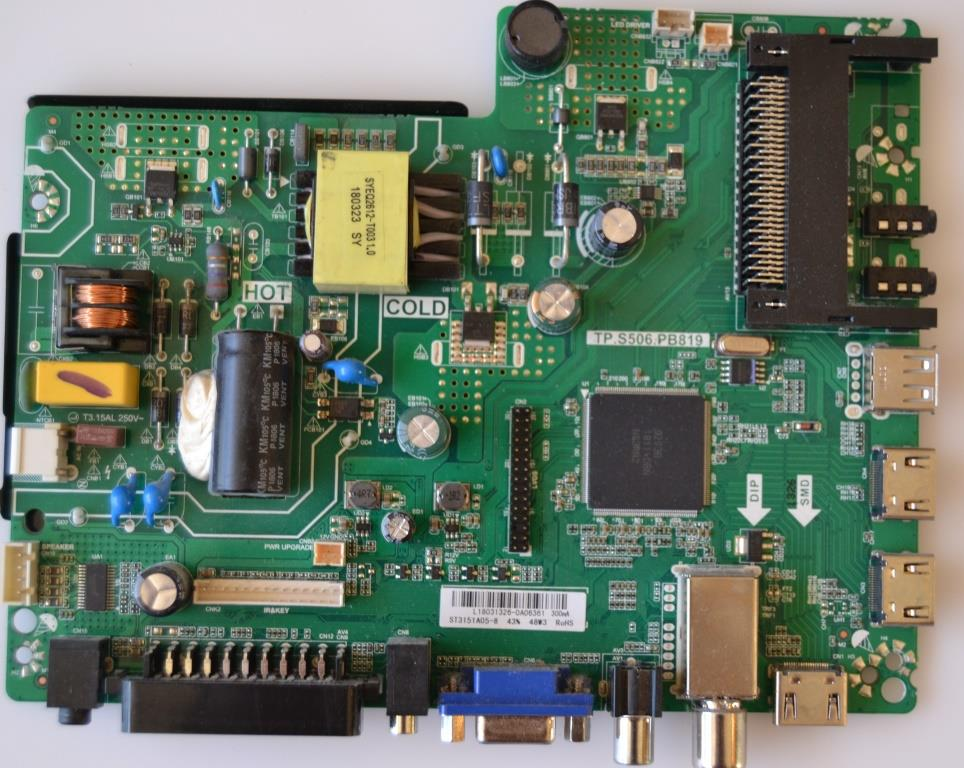 MB/TP.S506.PB819/HOR MAIN BOARD ,TP.S506.PB819,  for ,HORIZON 32HL5320H,
