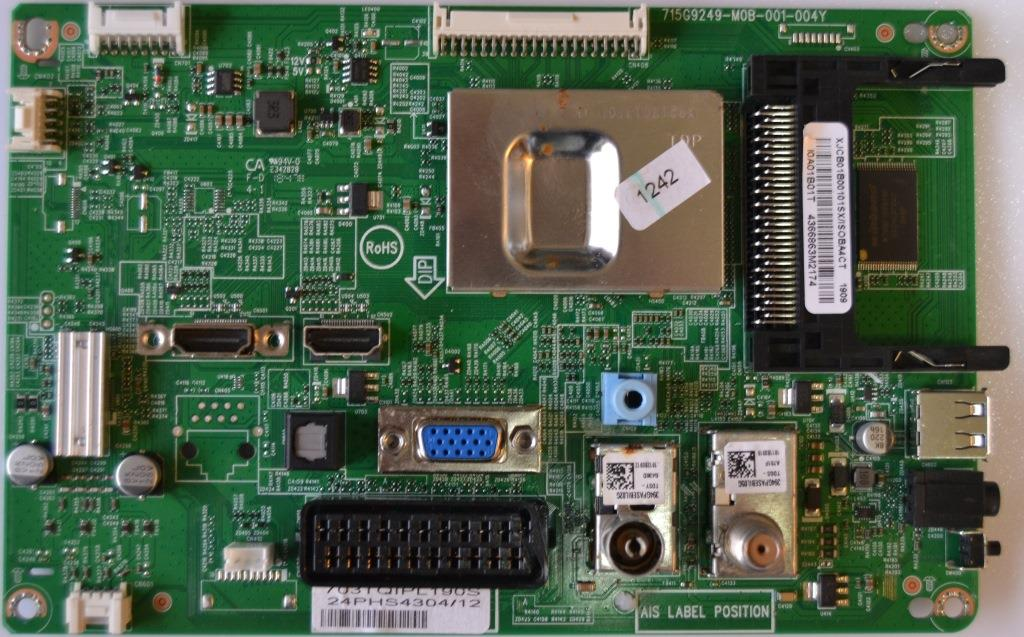 MB/24INC/PH/24PHS4304 MAIN BOARD ,715G9249-M0B-001-004Y, for, PHILIPS 24PHS4304/12
