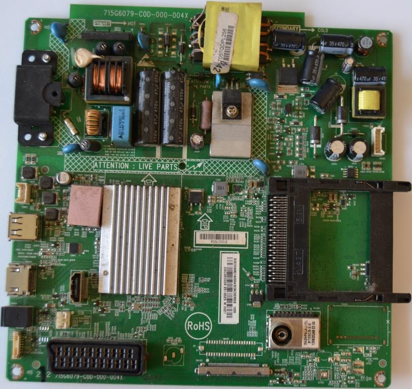 MB/32INC/PH/32PFL3188 MAIN BOARD ,715G6079-C0D-000-004X, for, PHILIPS ,32PFL3188H/12