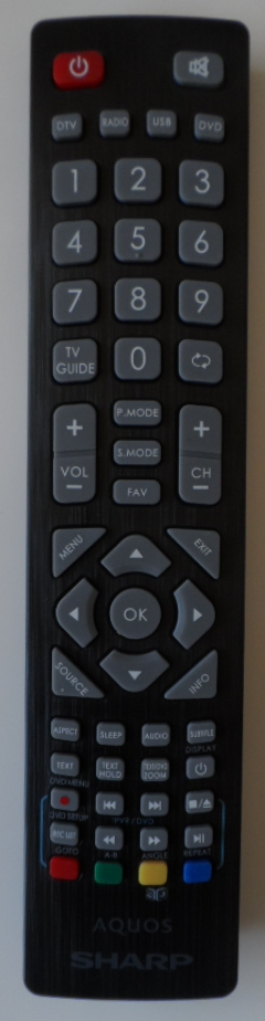 RC/SHARP/ LEDTV1 ORIGINAL REMOTE CONTROL for, SHARP, LED TV,LC-40CFE4042E,