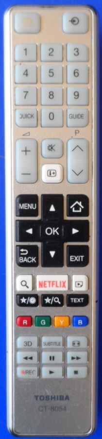 RC/CT8054/TOSH   ORIGINAL REMOTE CONTROL ,CT-8054, for ,TOSHIBA 32E3663DG,RC48120,