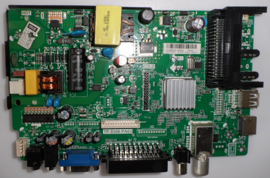 MB/TP.S506.PA63/28126 MAIN BOARD ,TP.S506.PA63, for ,CROWN,28126