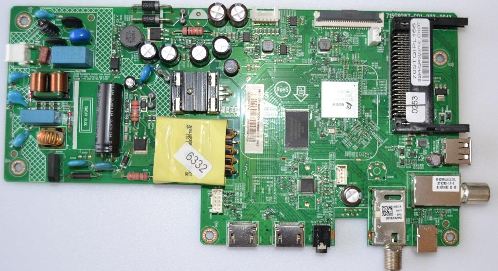 MB/32INC/PH/32PHS4503/12 MAIN BOARD ,715G9287-C01-002-004Y, for ,PHILIPS 32PHS4503/12,