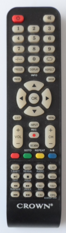 RC/CROWN/28126   ORIGINAL REMOTE CONTROL ,ED20DF-05B for ,CROWN,28126,