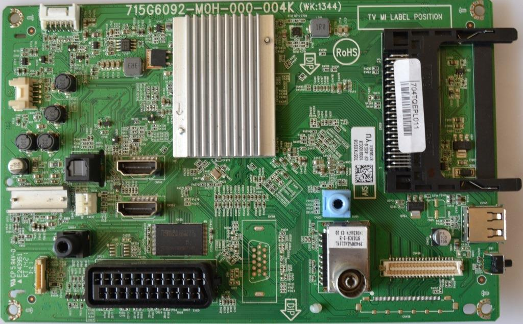 MB/32INC/PH/32PHH4309/1 MAIN BOARD ,715G6092-M0H-000-004K, for PHILIPS 32PHH4309/88