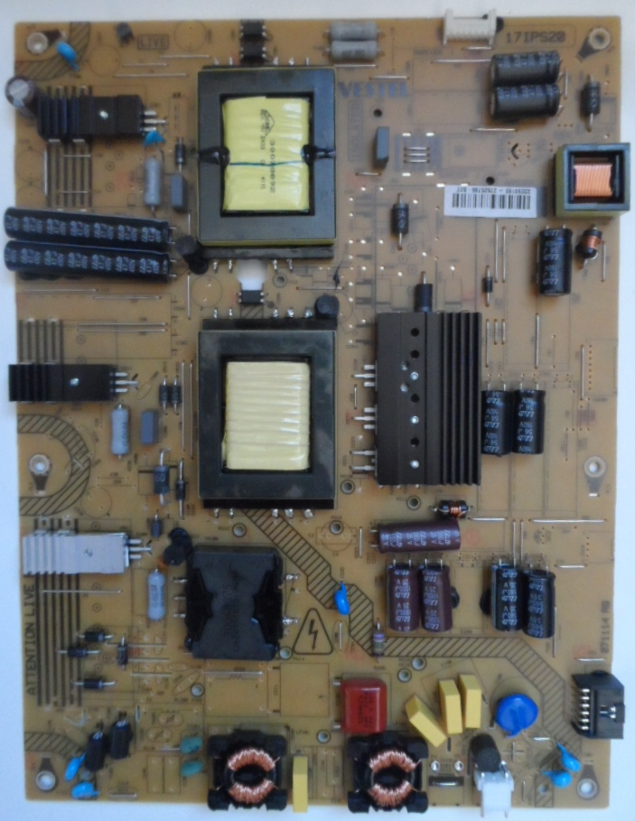 17IPS20/43INC/VES/TFK POWER BOARD 17IPS20 for 43 inc DISPLAY 23290160 27525795