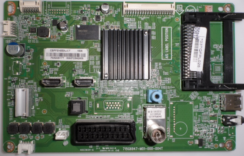 MB/32INC/PH/32PFH4100/88 MAIN BOARD ,715G6947-M01-000-004T, for, PHILIPS ,32PFH4100/88,