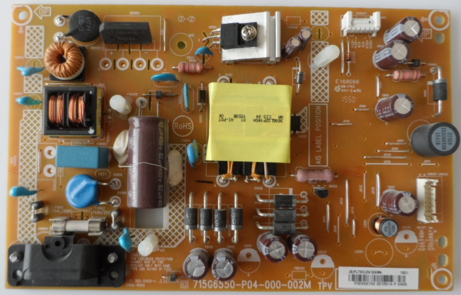 PB/32INC/PH/32PFH4100 POWER BOARD ,715G6550-P04-000-002M, for, PHILIPS 32PFH4100/88,