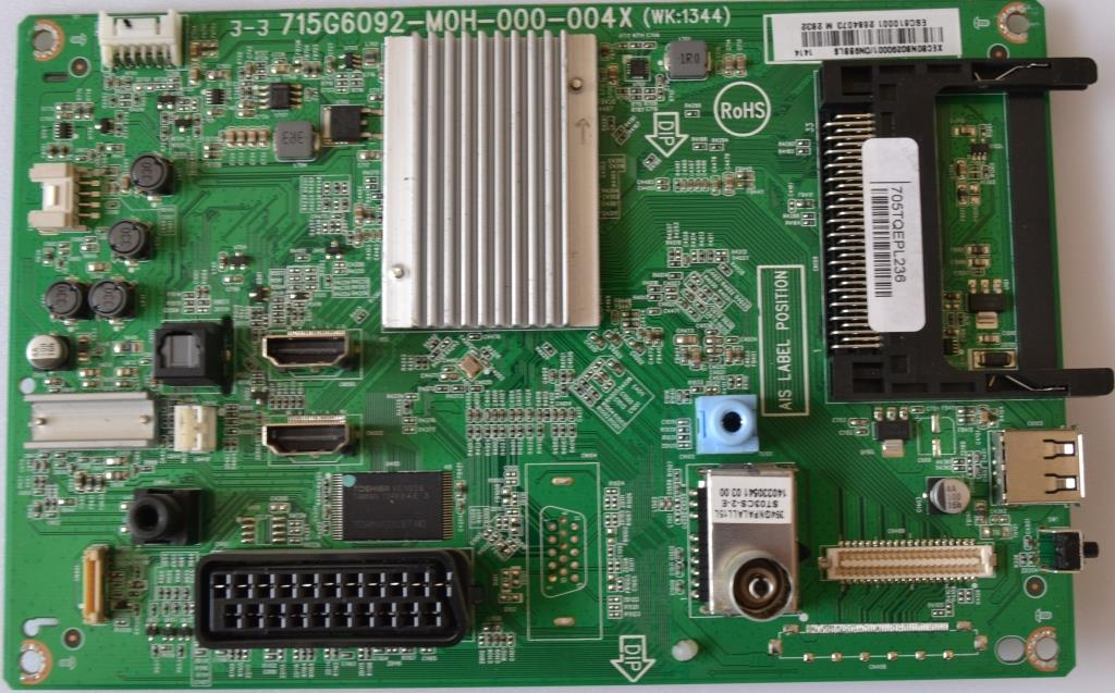 MB/32INC/PH/32PFH4309/1 MAIN BOARD ,715G6092-M0H-000-004X, for PHILIPS 32PFH4309/88