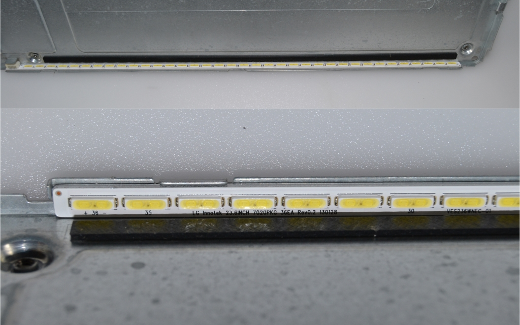 LB/24INC/VES/TFK/1 LED BACKLAIHT  ,LG Innotek 23.6inc 7020PKG 36E3 REV0.2 132128,VES236WNEC-01,