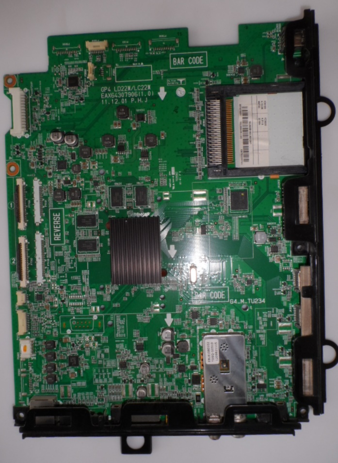 MB/LG/42LM640S MAIN BOARD  ,EAX64307906(1.0),EBT762225723, for, LG, 42LM640S,