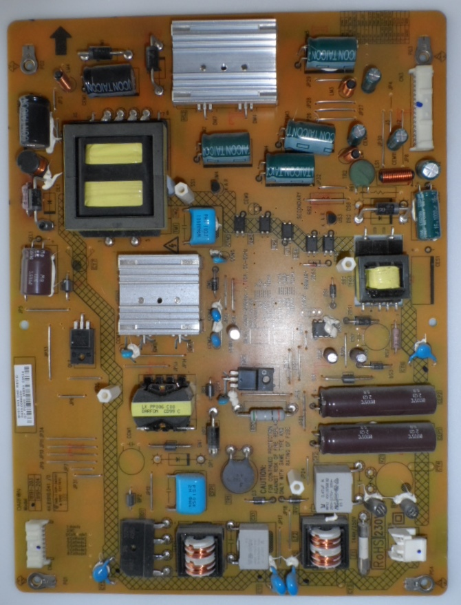 PB/TOSH/40L7335D POWER BOARD ,B191-203,4H.B1910.041/D, for ,TOSHIBA 40L7335D,