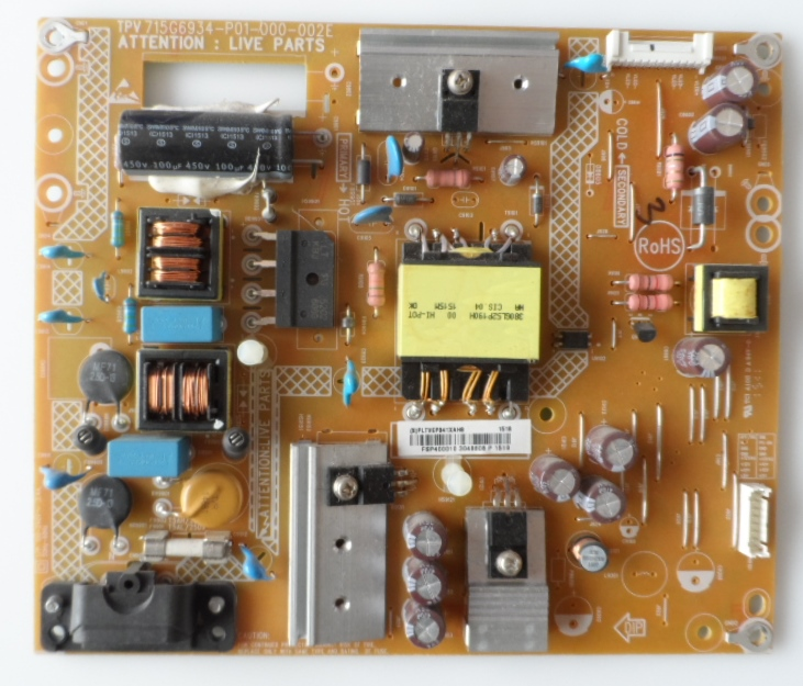 PB/40INC/PH/40PFH4100 POWER BOARD, 715G6934-P01-000-002E, for, PHILIPS 40PFH4100/88,