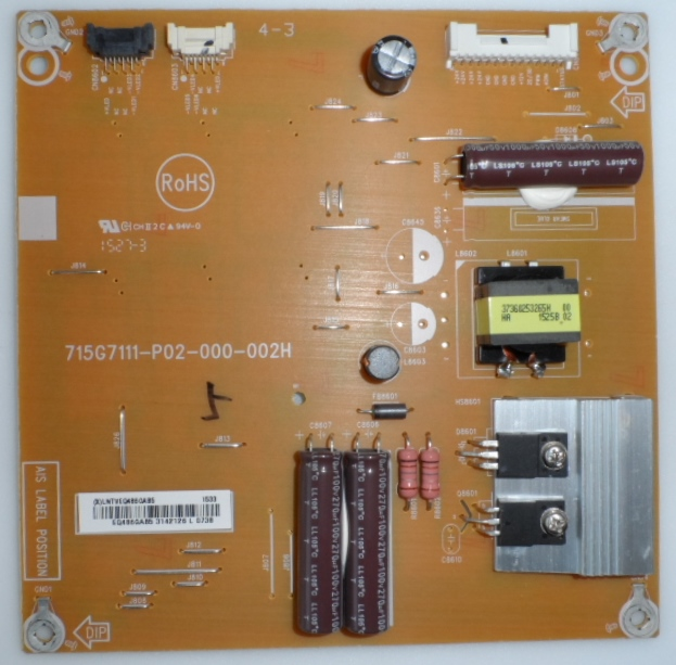 LD/43INC/PH/43PUS7150 LED DRIVER ,715G7111-P02-000-002H, for ,PHILIPS 43PUS7150/12/,
