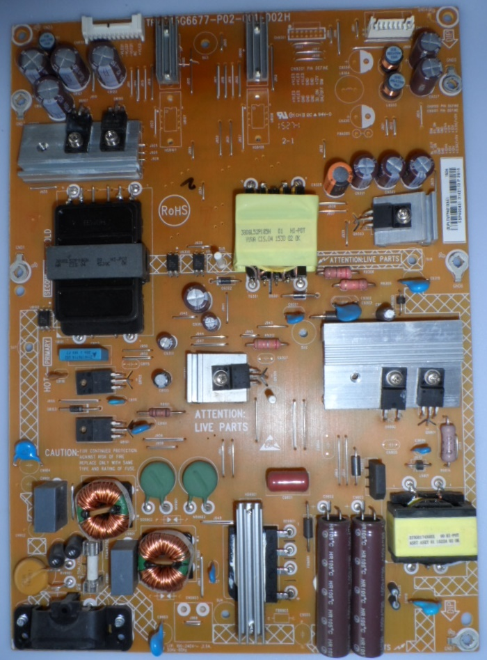PB/49INC/PH/49PUH4900 POWER BOARD ,715G6677-P02-001-002H,for PHILIPS 49PUH4900/88