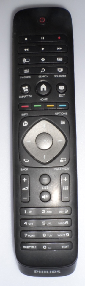 RC/PH/55PFS7509 ORIGINAL  REMOTE CONTROL  for PHILIPS 55PFS7509/12