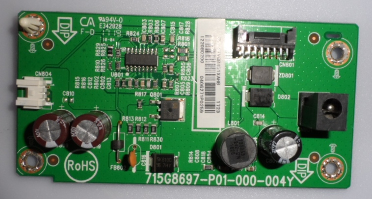 LD/22INC/PH/22PFS4232 LED DRIVER ,715G8697-P01-000-004Y, for ,PHILIPS 22PFS4232/12,