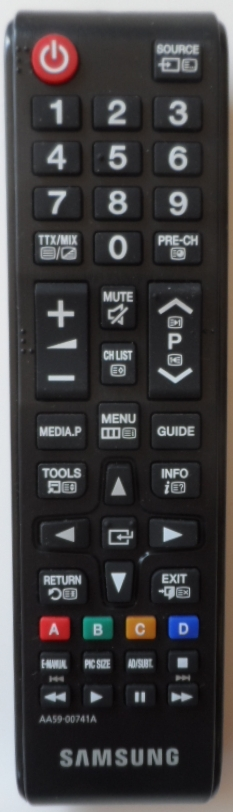 RC/SAM/AA59-00741A ORIGINAL REMOTE CONTROL,AA59-00741A ,for SAMSUNG  LED TV
