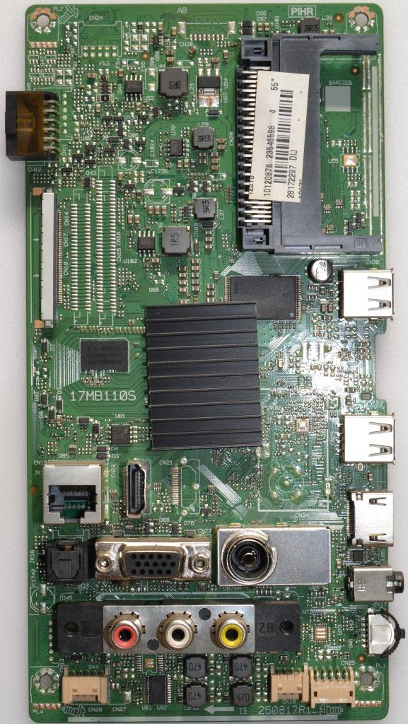 17MB110S/55INC/FINLUX MAIN BOARD, 17MB110S, for 48 inc DISPLAY,10120876,23546598,28172297,250817R1,