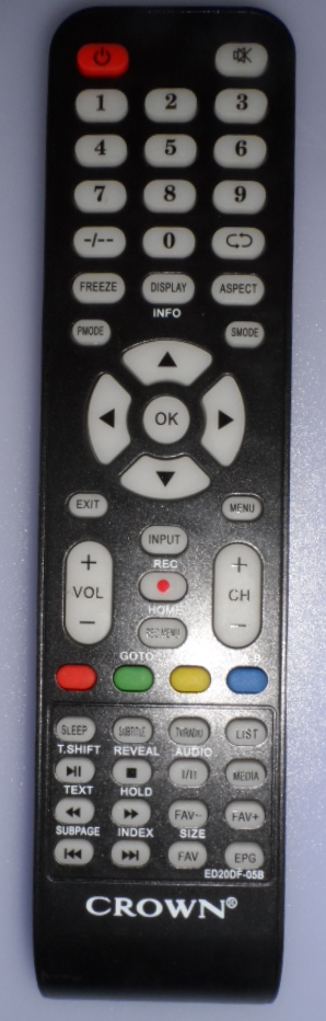 RC/CROWN/32133   ORIGINAL REMOTE CONTROL ,ED20DF-05B for ,CROWN,32133,