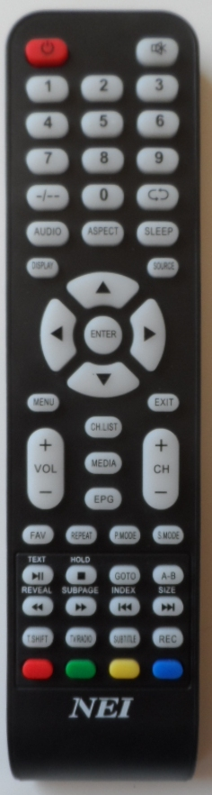 RC/NEI/LED1 ORIGINAL REMOTE CONTROL for NEI  LED TV