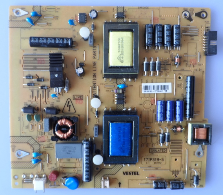 17IPS19-5/32INC/VES POWER BOARD ,17IPS19-5,V.1 061112 for 32inc DISPLAY ,23149106,27153440,