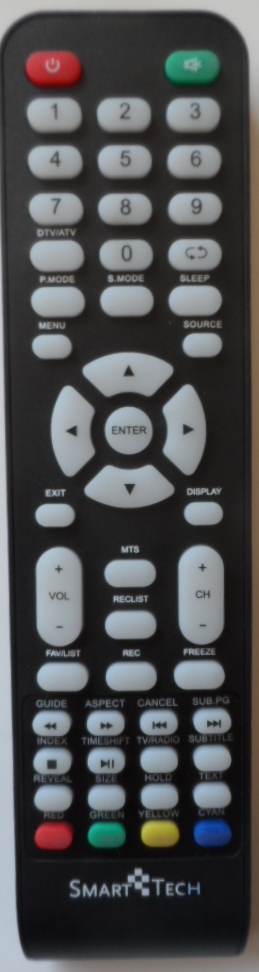 RC/SMT/LED1 ORIGINAL REMOTE CONTROL for SMARTTECH  LED TV