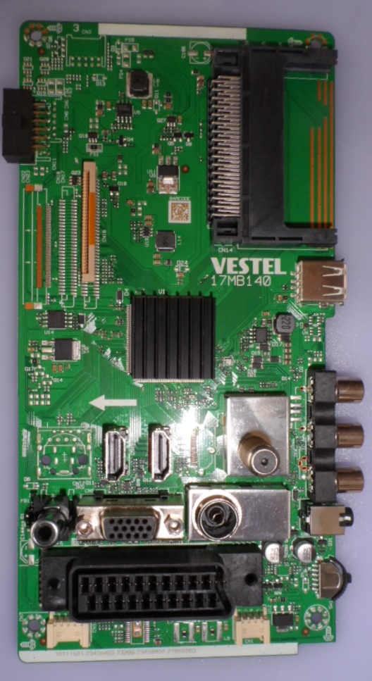 17MB140/24INC/VES/OK MAIN BOARD, 17MB140,  for 24 inc DISPLAY,10111581,2373803,23200 23438402,27850263,