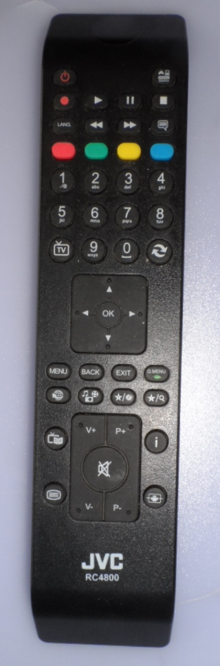 RC/JVC/RC4800  ORIGINAL  REMOTE CONTROL ,RC4800, for JVC LED TV