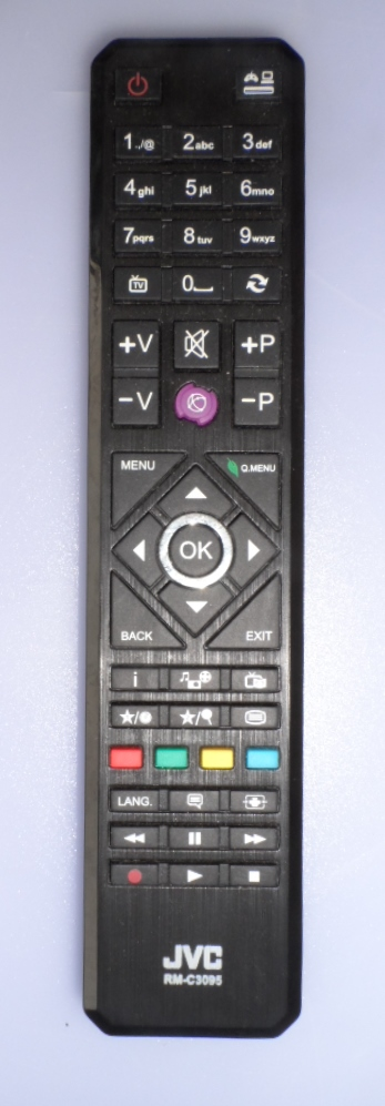 RC/JVC/RM-C3095  ORIGINAL  REMOTE CONTROL ,RM-C3095, for JVC LED TV