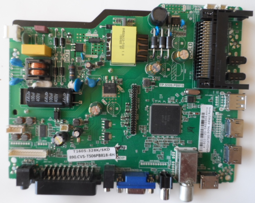 MB/TP.S506.PB818/SANG/32D7 MAIN BOARD TP.S506.PB818  for SANG LE-32D7