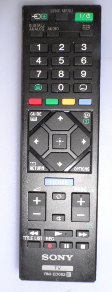 RC/SONY/RM-ED062 ORIGINAL REMOTE CONTROL, RM-ED062 , for SONY LED TV