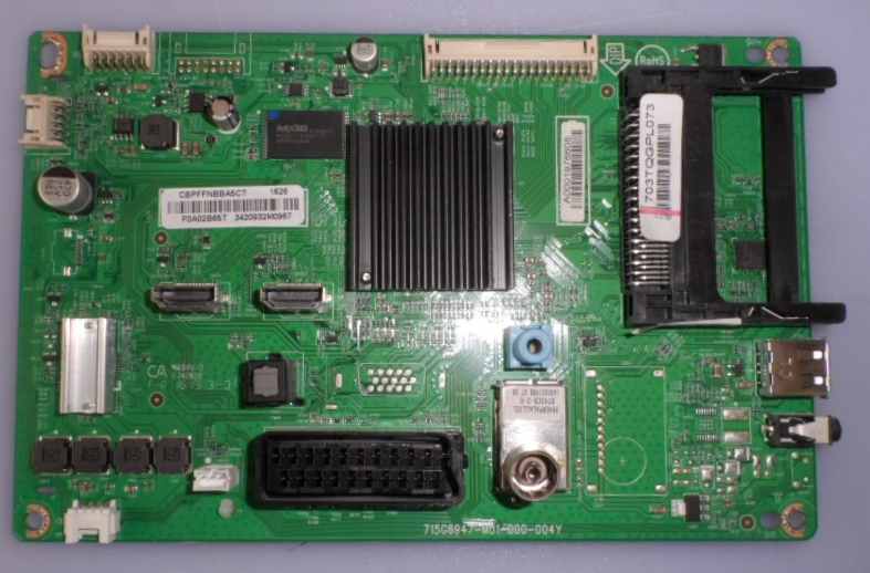 MB/40INC/PH/40PFT4201 MAIN BOARD ,715G6947-M01-000-004Y, for PHILIPS 40PHT4201/12,40PFT4101/12