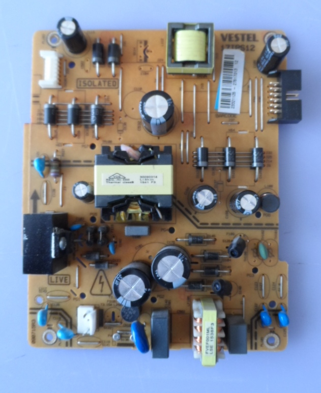 17IPS12/40INC/NEO/40730 POWER BOARD ,17IPS12 ,for 40inc DISPLAY ,23321125,27517013,090715R3,