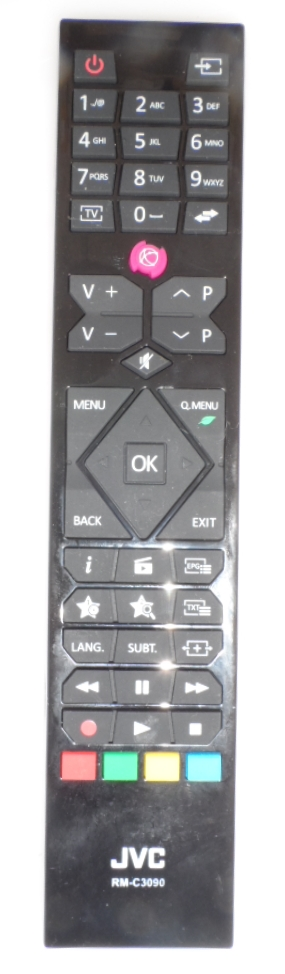 RC/JVC/RM-C3090  ORIGINAL  REMOTE CONTROL ,RM-C3090, for JVC LED TV