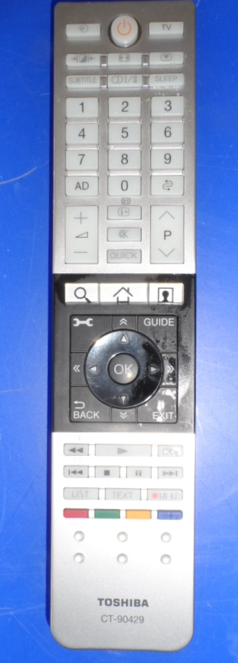 RC/TOSH/90429   ORIGINAL REMOTE CONTROL ,CT-90429, for ,TOSHIBA LED TV,