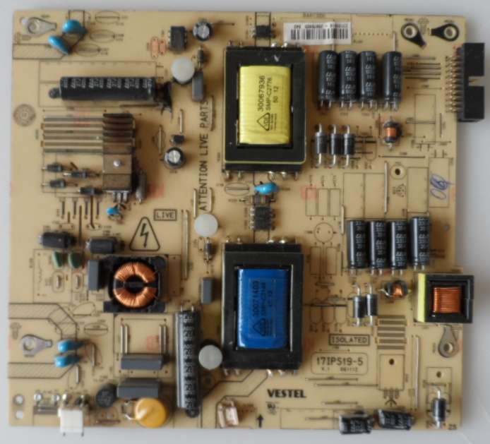 17IPS19-5/32INC/VES/TFK POWER BOARD ,17IPS19-5,V.1 061112 for 32inc DISPLAY ,23105886,27145955,