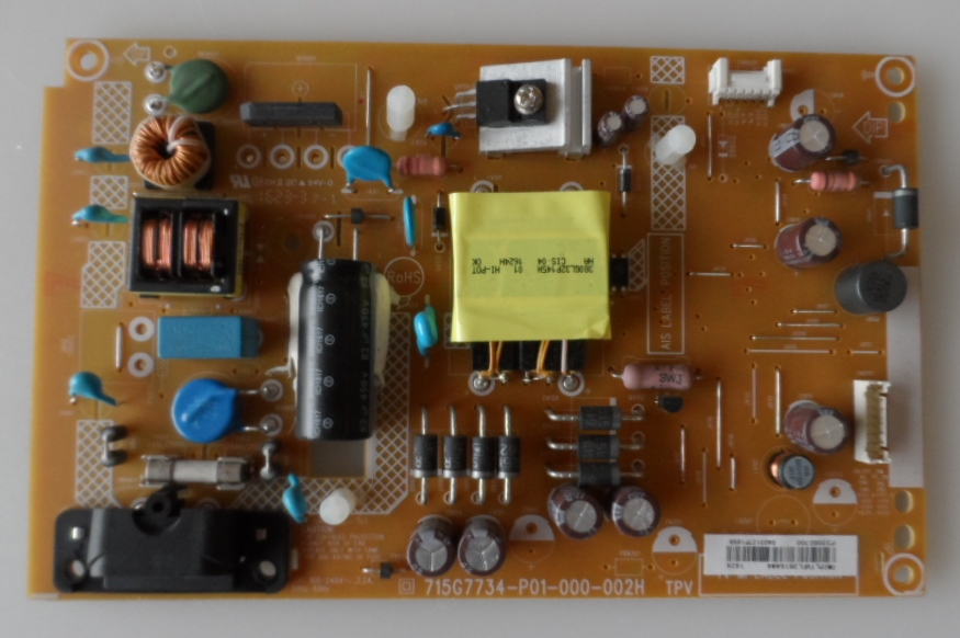 PB/32INC/PH/32PFT4101/12 POWER BOARD ,715G7734-P01-000-002H, for, PHILIPS 32PHT4101/12,