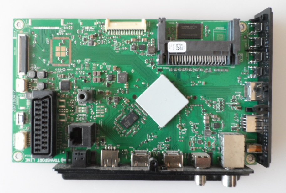 MB/43INC/GRUNDIG MAIN BOARD, ZG7190R-7,for, GRUNDIG 43GFB6627,