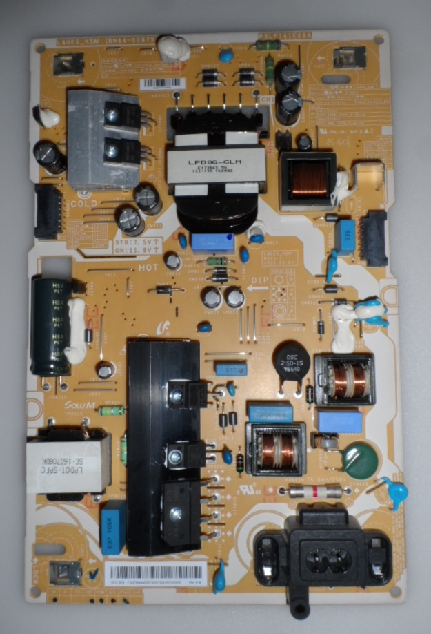PB/BN44-00875A/SAM/40MU6471U POWER BOARD,BN44-00875A, L40E6_KSM(for, SAMSUNG UE40MU6472U,
