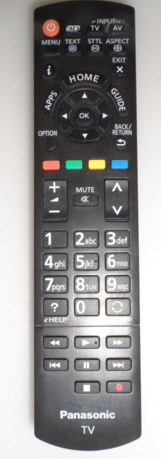 RC/N2QAYB/PAN  REMOTE CONTROL, N2QAYB000829, for ,PANASONIC ,