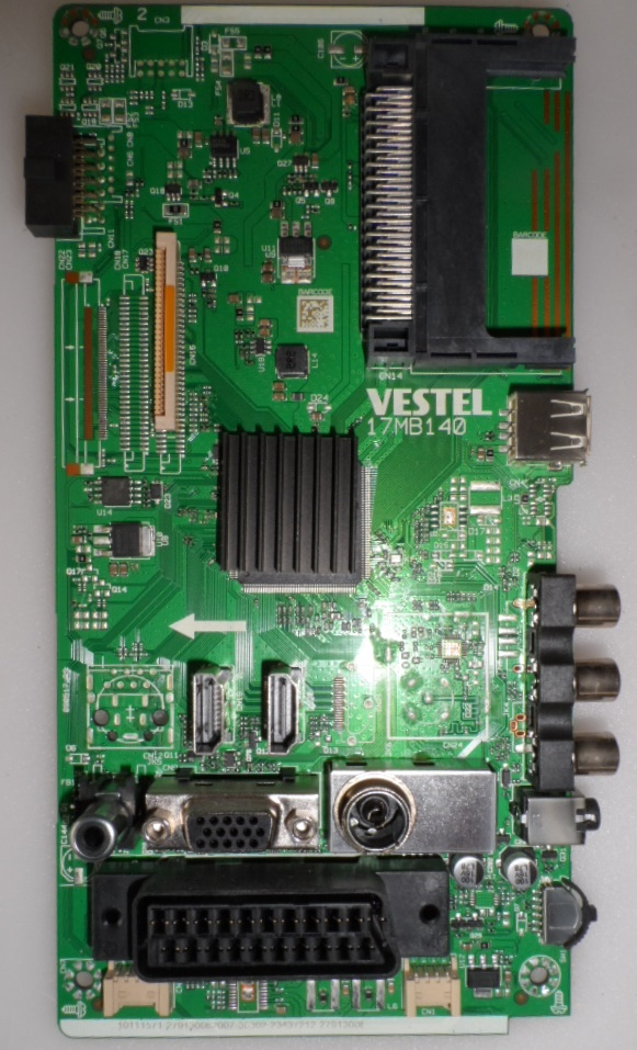 17MB140/24INC/JVC MAIN BOARD ,17MB140 , for 24 inc DISPLAY ,1011571,279130082007,23437212,27913008,