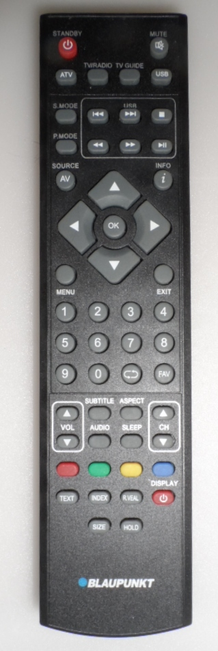 RC/BLAUPUNKT/1  ORIGINAL  REMOTE CONTROL, for BLAUPUNKT