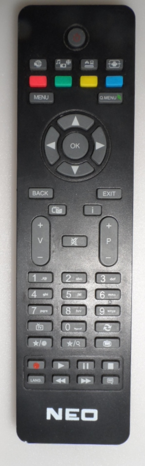 RC/NEO/VES  REMOTE CONTROL, for, NEO,  LED ,TV ,