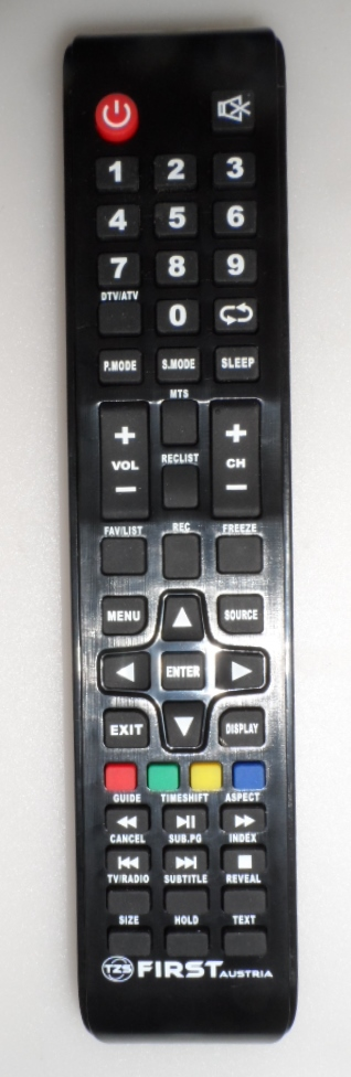 RC/FIRST  REMOTE CONTROL, for, FIRST Austria ,ARIELLI ,  LED ,TV ,