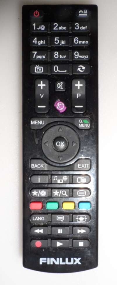 RC/4870/FINLUX/VES  REMOTE CONTROL, RC4870, for, FINLUX ,LED TV